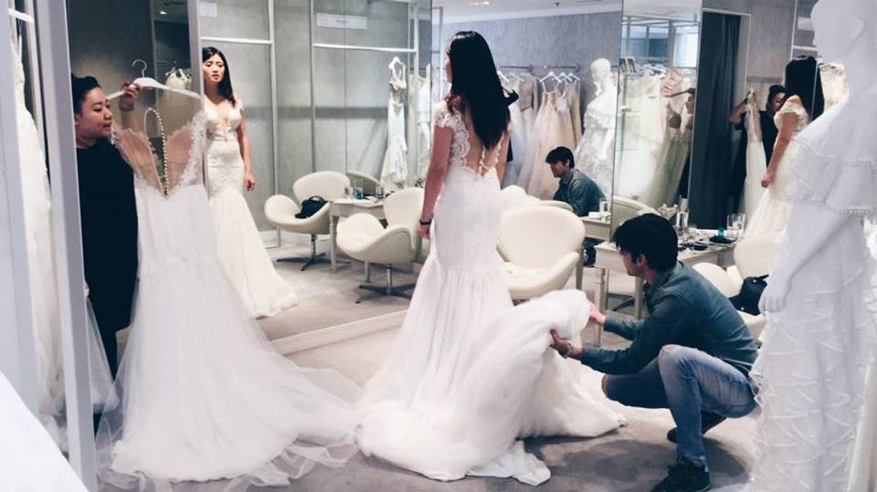 Custom Design Your Gown With former Dior designer Yaniv Persy ...